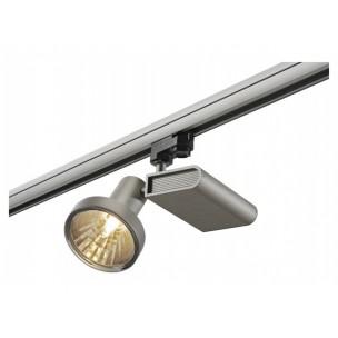 SLV 153664 Sleek Spot G12 zilvergrijs 52º 3 -fase railverlichting