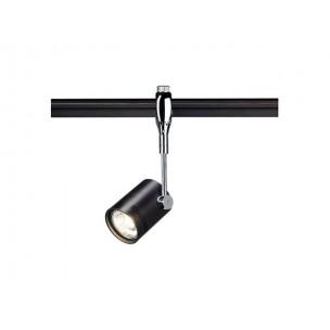 SLV 185450 Bima 1 chroom / zwart Easytec II chroom railverlichting
