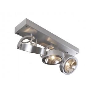 SLV 147276 Kalu 3 alu geborsteld plafondlamp