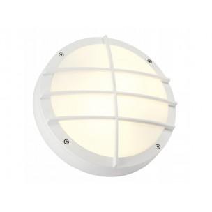 SLV 229081 Bulan Grid wit wand / plafondlamp buiten