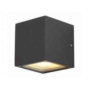 SLV 232535 Sitra Cube antraciet wandlamp buiten