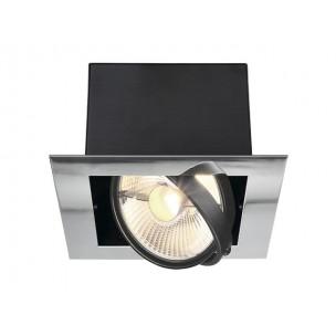 SLV 154602 Aixlight Flat single ES111 chroom inbouwspot