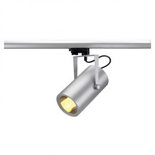 SLV 153464 Euro Spot E27 zilvergrijs 3-fase railverlichting