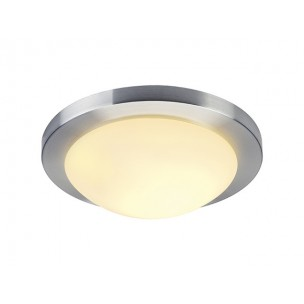 155236 SLV Melan alu geborsteld plafondlamp