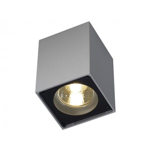SLV 151514 Altra Dice CL-1 zilvergrijs / zwart plafondlamp