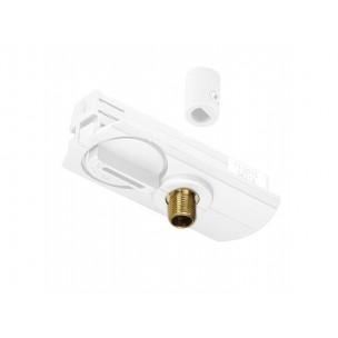 SLV 143121 1-Fase pendelarmatuuradapter wit