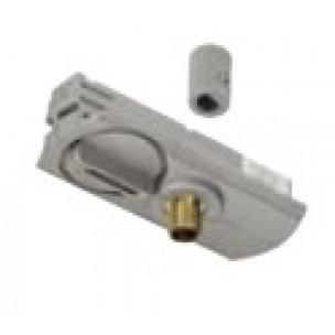 SLV 143124 1-Fase pendelarmatuuradapter zilvergrijs