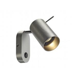SLV 146416 Asto tube wandlamp alu geborsteld