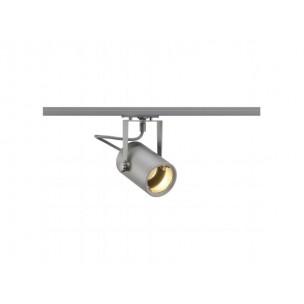 SLV 143814 Euro Spot GU10 zilvergrijs 1-fase railverlichting