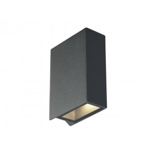 SLV 232475 Quad 2 Up & Down antraciet wandlamp