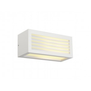 SLV 232491 Box-L E27 wit wandlamp buiten