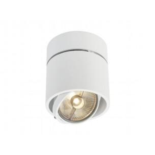 SLV 117171 Kardamod Surface Round QRB111 single wit plafondlamp