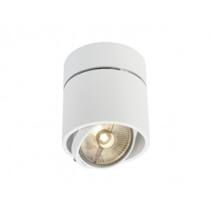 SLV 117161 Kardamod Surface Round ES111 single wit plafondlamp