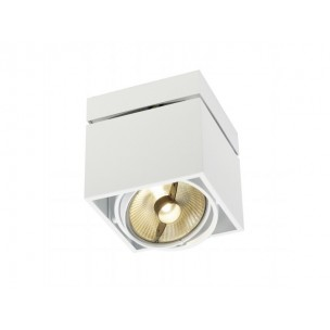 SLV 117121 Kardamod Surface Square QRB111 single wit plafondlamp