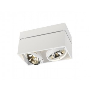 SLV 117131 Kardamod Surface Square QRB111 double wit plafondlamp