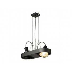 SLV 159020 Aixlight R DUO QRB111 zwart hanglamp