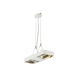 SLV 159030 Aixlight R2 DUO QRB111 zwart hanglamp