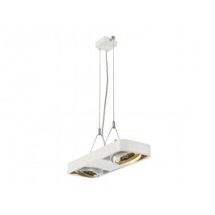 SLV 159034 Aixlight R2 DUO QRB111 zilvergrijs hanglamp