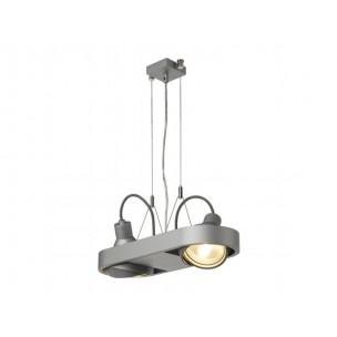 SLV 159044 Aixlight R Duo HQI111 zilvergrijs winkelverlichting