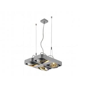 SLV 159060 Aixlight R2 Square QRB111 zwart hanglamp