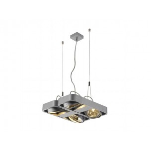 SLV 159061 Aixlight R2 Square QRB111 wit hanglamp