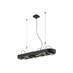 SLV 159070 Aixlight R Long QRB111 zwart hanglamp