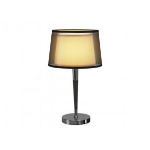 SLV 155651 Bishade TL-1 zwart transparant tafellamp