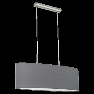 31582 Eglo Pasteri grijs hanglamp
