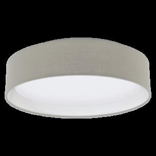 31589 Eglo Pasteri taupe plafondlamp