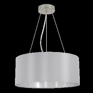 31606 Eglo Maserlo grijs / zilver hanglamp