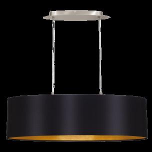 31611 Eglo Maserlo zwart / goud hanglamp