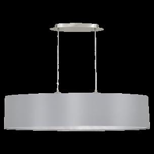 31617 Eglo Maserlo grijs / zilver hanglamp
