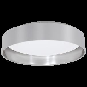 31623 Eglo Maserlo grijs / zilver plafondlamp