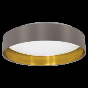 31625 Eglo Maserlo cappucino / goud plafondlamp