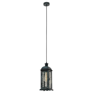 49215 Eglo Lisburn 1 Vintage hanglamp
