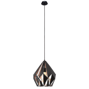 49254 Eglo Carlton 1 Vintage hanglamp