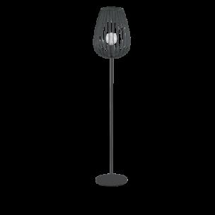49474 Eglo Newtown Vintage tafellamp zwart