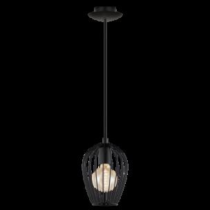 49477 Eglo Newtown Vintage hanglamp zwart