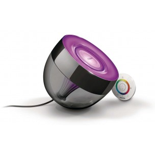 Philips Living Colors Iris Black 7099930PH tafellamp / vloerlamp