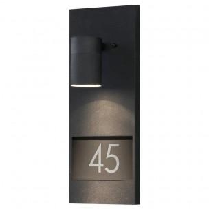 Konstsmide 7655-750 Modena huisnummerarmatuur matzwart buitenverlichting