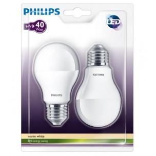 Duopack Philips led lamp E27 5,5W