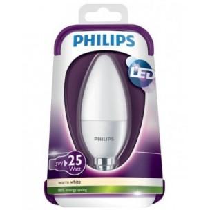 Led lamp E14 3W warmwit Philips