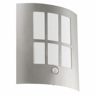 94213 City LED met sensor Eglo LED wandlamp buitenverlichting