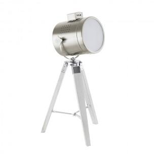 94369 Eglo Upstreet tafellamp wit / chroom