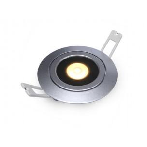 DecaLED 94505028 Flexo-R Silver 10W Downlight