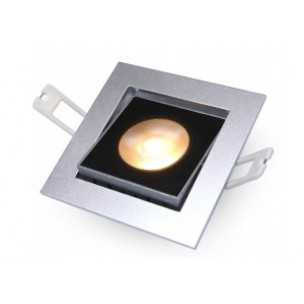 DecaLED 94505068 Flexo-SQ Silver 10W Downlight
