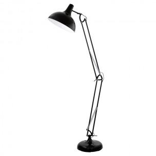 94698 Eglo Borgillio vloerlamp zwart