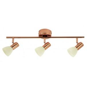 94738 Eglo Glossy 2 plafondlamp koper