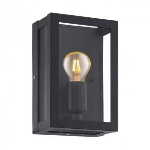 94831 Eglo Alamonte 1 zwart wandlamp