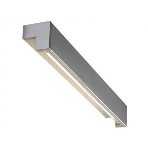SLV 157414 L-Line 60 zilvergrijs wandlamp